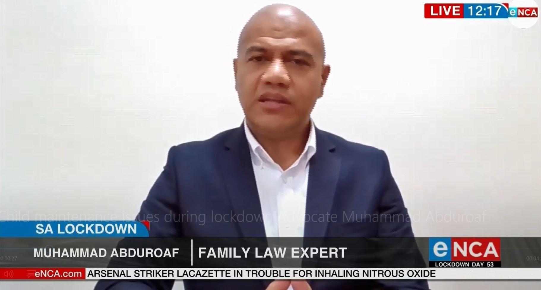 Advocate Muhammad Abduroaf
